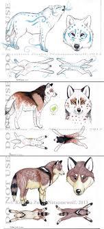 wolf adoptables sold by natsumewolf on deviantart