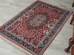 galerie teppich 121x80 cm schöne handgeknüpften kaschmir kunstseide floor galerie