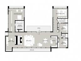 fantastic u shaped house plans with courtyard hd l tikspor fancy