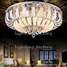 lights to hang in room modern round crystal chandeliers minimalist ceiling l e14 led