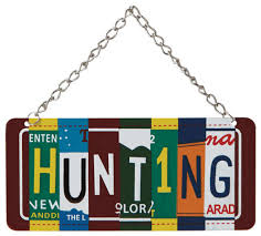 license plate tree ornament novelty
