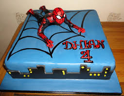 spiderman cake lou flickr