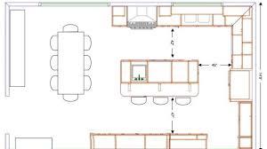 island kitchen floor plans alluring island kitchen floor plans best 10 ideas on with