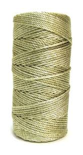 rosary twine golden 36 knotted rosary cord twine rosary cord golden