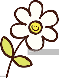 simple flower cartoon illustration vector art getty images