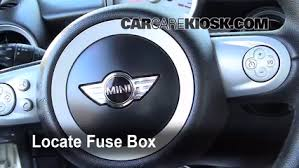 2010 Mini Cooper Interior Interior Fuse Box Location 2008 2015 Mini Cooper 2009 Mini