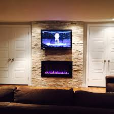 Napoleon Electric Fireplace 42 Tv And Napoleon Electric Fireplace With Beachwood