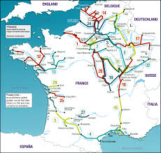 Le Havre France Map by France Navicarte Fluviacarte Guides To French Canals And