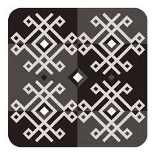 magnētiņš latviešu ornamenti jumis