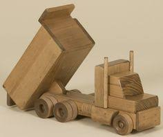 handmade wooden toy semi truck low boy wooden toys toy and