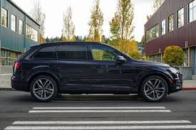 audi dealership cars 2017 ink blue q7 with black optics audi seattle seattle wa
