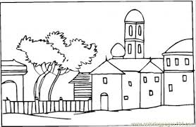 coloring pages houses tree house coloring pages jack and annie magic sketch template