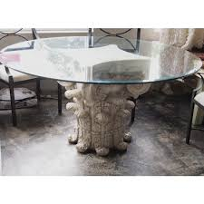 how to make a glass table how to make the base for glass table boundless table ideas