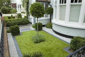 Ideas For Front Gardens 25 Landscape Design For Small Spaces White Pebbles Small Space