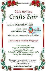 2014 holiday craft fair at jeff u0027s pirates cove this sunday