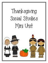 thanksgiving social studies mini unit thanksgiving pay