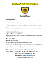 security resumes examples epic security officer sample resume security sample resume resume examples profesisonal cover