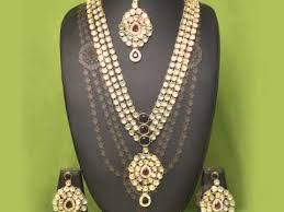 buy imitiation artificial antique designer kundan jewellery