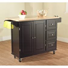 Wood Top Kitchen Island by Oliver And Smith Nashville Collection Mobile Kitchen Island Cart
