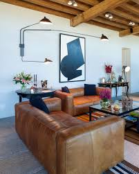 Decorating With A Brown Leather Sofa Living Room Colours That Go With Brown Sofas