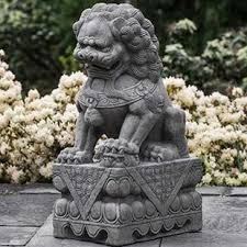 foo dog statues concrete dog statue wayfair
