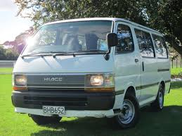 toyota commercial vehicles usa 1992 toyota hiace 5 speed manual diesel van no reserve