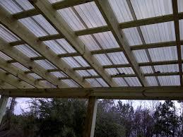 Transparent Patio Roof Translucent Patio Roof Panels Bjhryz Com