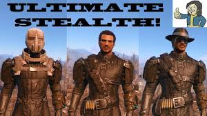 Fallout Clothes For Sale Fallout 4 How To Get Sentinel Chameleon Armor Ultimate Stealth