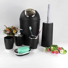 Plastic Bathroom Tumbler Aliexpress Com Buy 6 Pcs Set New Plastic Bath Accessory Bathroom