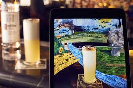 jason atherton launches world u0027s first augmented reality cocktail