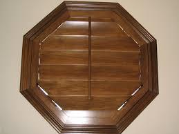 octagon window blinds modern home