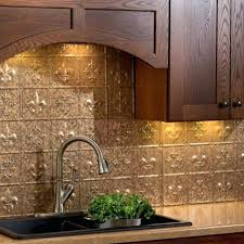 faux kitchen backsplash faux tin backsplash roll aspect peel and stick metal tiles reviews