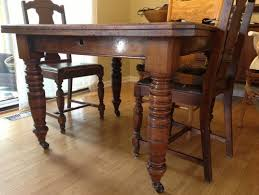 Antique Dining Room Table Styles Chairs To Pair With Antique Dining Table