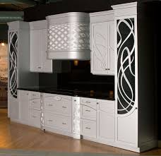 Art Deco Kitchen Cool Art Deco Kitchen Cabinets Integrated With Living Room And