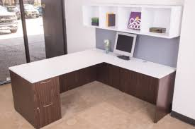 White Laminate Desk Used Office Desks Dallas Tx Furniture Solutions Now