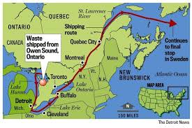 st seaway map beyond nuclear low level environmentalists condemn decision