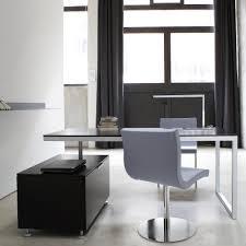 White Laquer Desk by Everywhere Desks Secretary Designer Christian Werner Ligne