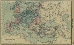 Late Medieval Europe Map by
