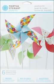 amazon com martha stewart crafts modern festive pinwheel kit