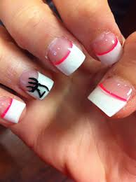 plain white tip nails u2022nails u2022 pinterest double team french