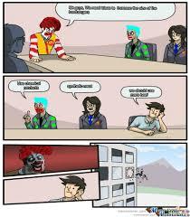 Conference Room Meme - meeting room mcdonalds by daniel 103 meme center