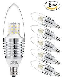 backey e12 led bulbs candelabra led light bulbs 7w 60 watt light