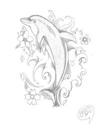 dolphin tattoos temporary tattoos fake tattoos circle of dolphins