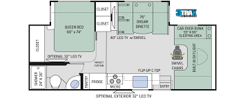 100 class c motorhome floor plans 2010 four winds chateau