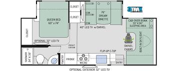 quantum class c motorhomes floor plans thor motor coach