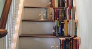 bookshelf staircase design bookshelf staircases dezeen house