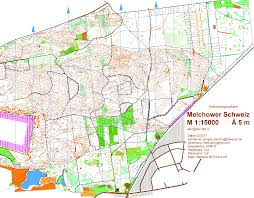 Map Request Dbk Nacht 2017 Melchow March 18th 2017 Orienteering Map From