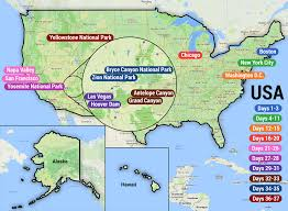 Grand Canyon Map Usa by Charlie U0027s World Tour For 2017 2018 Backpackerstravelguides