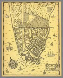 york city on map amsterdam 1664 manhattan york city david rumsey