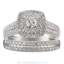 wedding ring sets uk halo bridal ring buy cheap womens and mens jewelry watches at